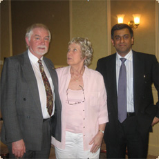 Ashvin With Mr and Mrs Bowdler