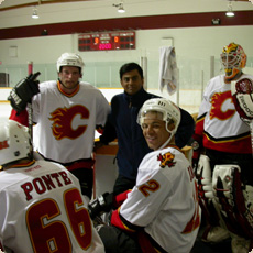 Ashvin With the Calgary Flames