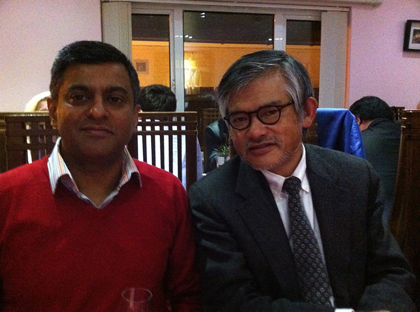 Mr Pimpalnerkar with ProfessorMagamichi (Kyoto University)